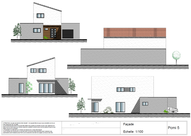 Maison Traditionnelle Dessinateur Plans Permis
