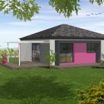 Maison 80m² - Architecture moderne